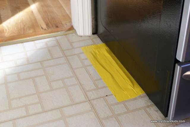 Even Steven Fixed the Kitchen Floor