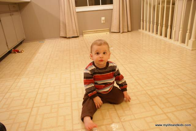 Ugly Kitchen Floor