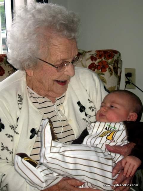 Nanny is 105