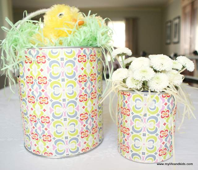 Paint Bucket Easter Baskets