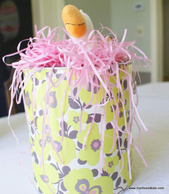 Paint Bucket Easter Basket