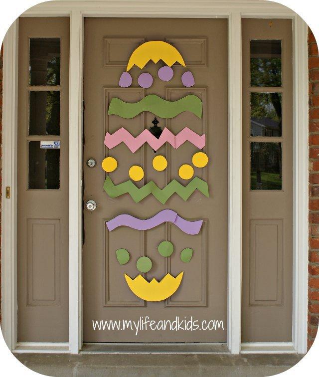 Easter Door My Life And Kids