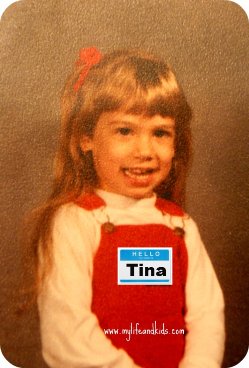 I changed my name to Tina
