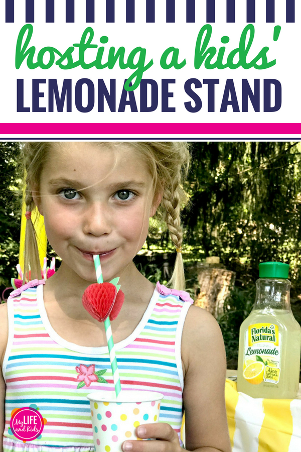 Thinking about hosting a lemonade stand with your kids? Be sure to read these tips first. These DIY ideas and recipes will turn your lemonade stand into a party every time - while making it as easy as possible! #FloridasNatural #ad #summer #lemonadestand #kids