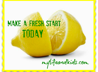 Make a Fresh Start Today