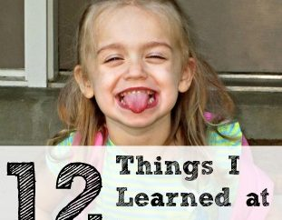 12 Things I Learned at Preschool