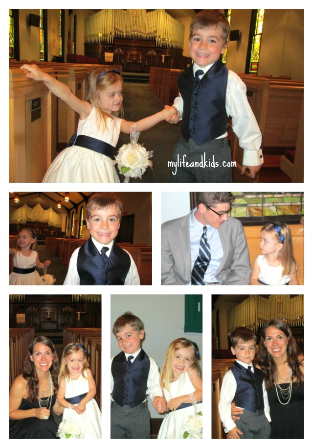 Cute kids in a wedding my life and kids