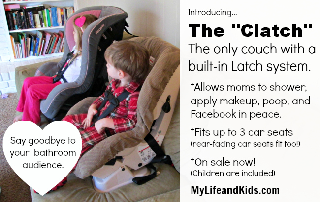 The Only Couch with a Built in Latch System from My Life and Kids @lifeandkidsblog