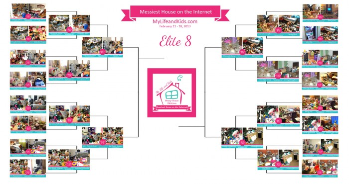 Vote for the Messiest House on the Internet Competition Elite 8 @ My Life and Kids