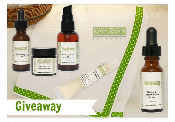 Great Giveaway from Kate Ryan Skincare at My Life and Kids