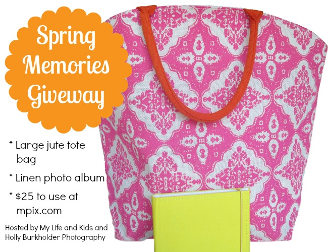 Spring Memories Giveaway from My Life and Kids and Holly Burkholder Photography