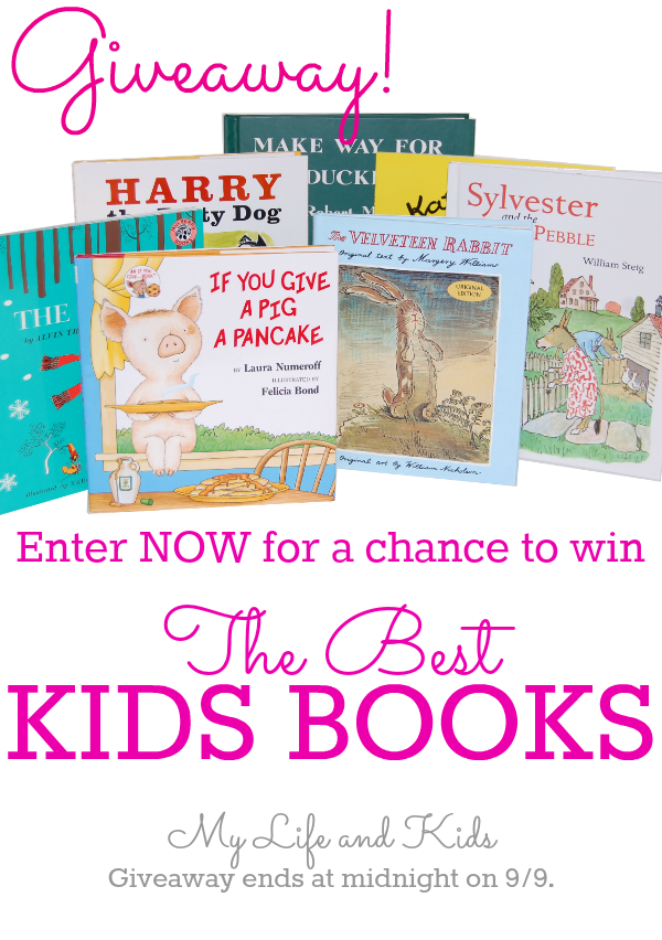 Enter now for a chance to win the BEST kids books from My Life and Kids and Incredibundles