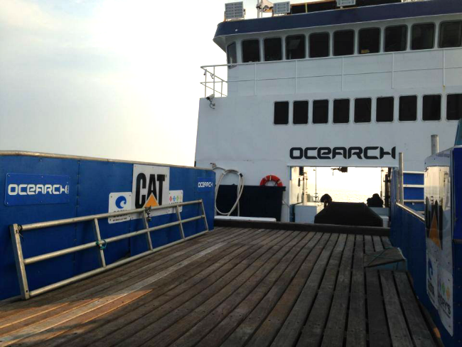 OCEARCH boat
