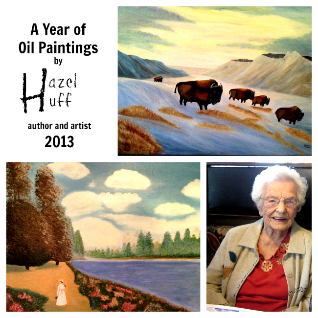 A year of Oil Paintings