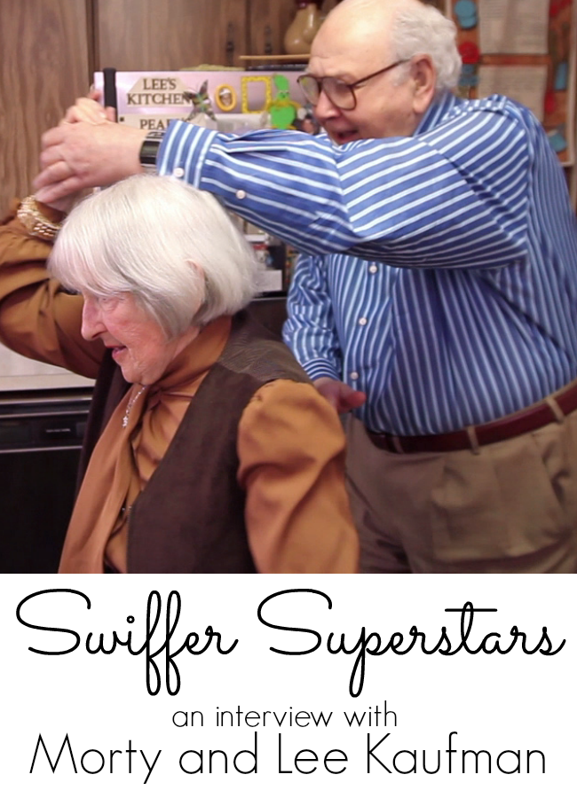 An Interview with Swiffer Commercial Stars Morty and Lee Kaufman