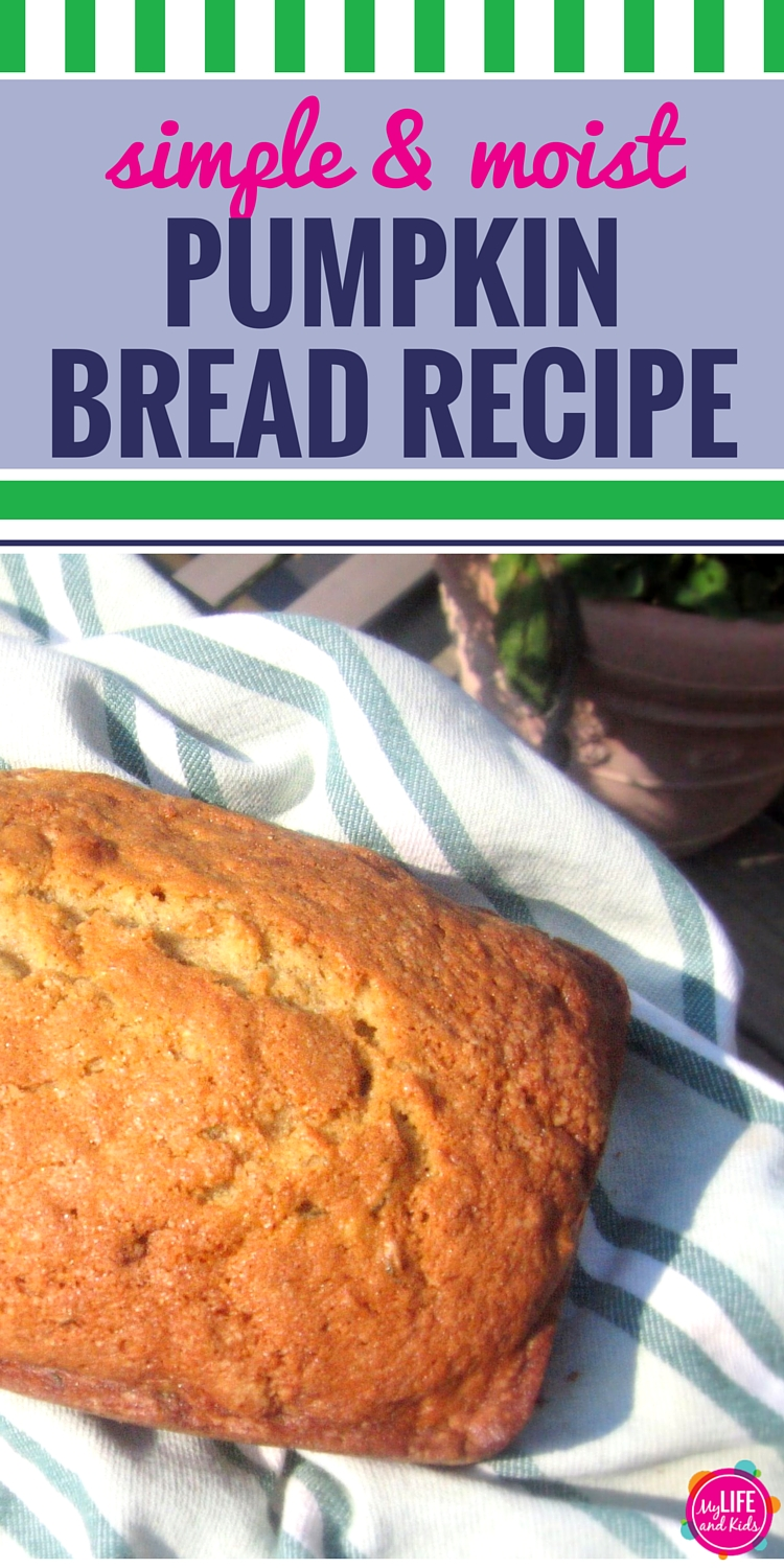 It's Fall Ya'll. Celebrate with this easy, homemade pumpkin bread recipe. This simple recipe makes super moist pumpkin bread (or muffins.) Enjoy!