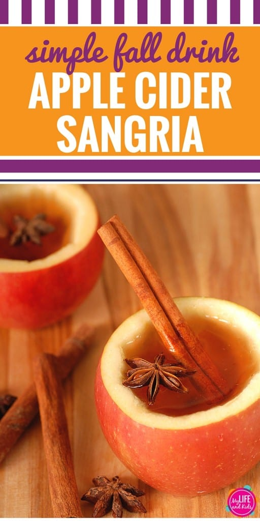 Looking for the perfect drink to serve at fall parties or looking for some fun Thanksgiving (or holiday) cocktails? This simple apple cider sangria recipe is just what you're looking for. Made with real apples and cinnamon, it's easy to prepare and will be a hit at all of your fall celebrations.