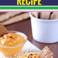 Yum! I serve this easy pumpkin dip recipe at every fall party. It's made with cream cheese and served with graham crackers or ginger snaps. It's sort of healthy and super savory. Celebrate fall with this simple pumpkin dip recipe.