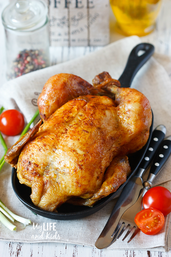 Easy chicken recipe! This will be a family favorite - and you'll love how quick it is to make. Definitely add this to your weekly meal planner!