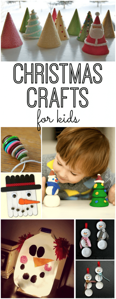 Christmas Crafts for kids - Collage