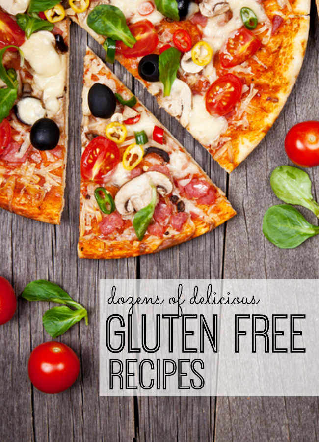 Dozens of delicious gluten free recipes