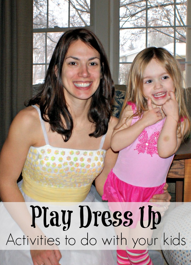 Kids Activities - Play Dress Up