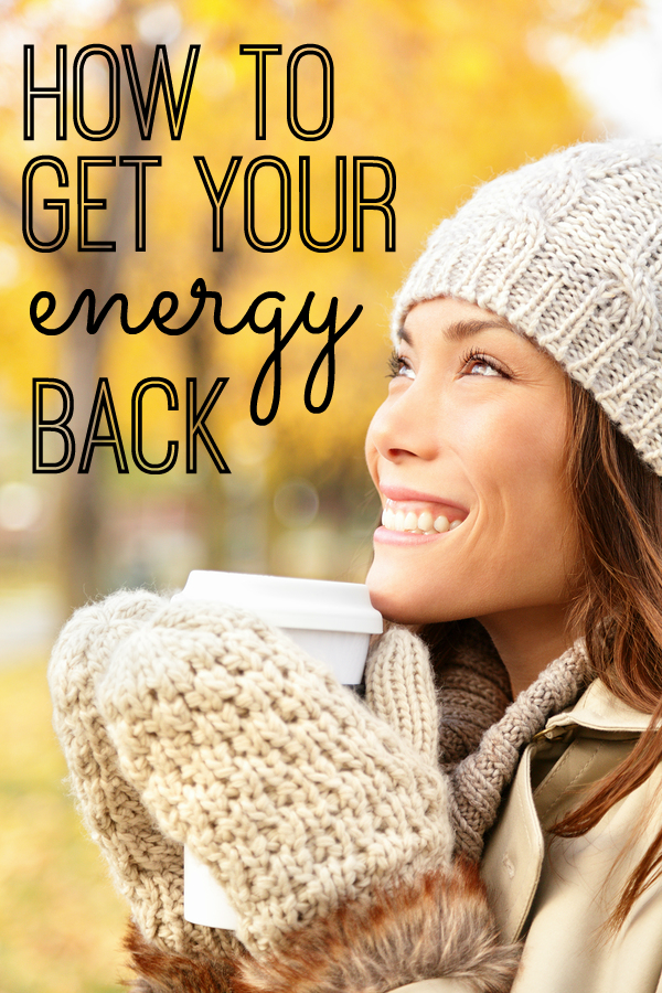 Feeling tired? Sluggish? Foggy? Here are some great tips on how to get your energy back that go way beyond a workout, fitness and exercise. Most of these were brand new to me - but they're changing my life.