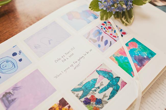 Blinkbuggy Memory Book for Artwork