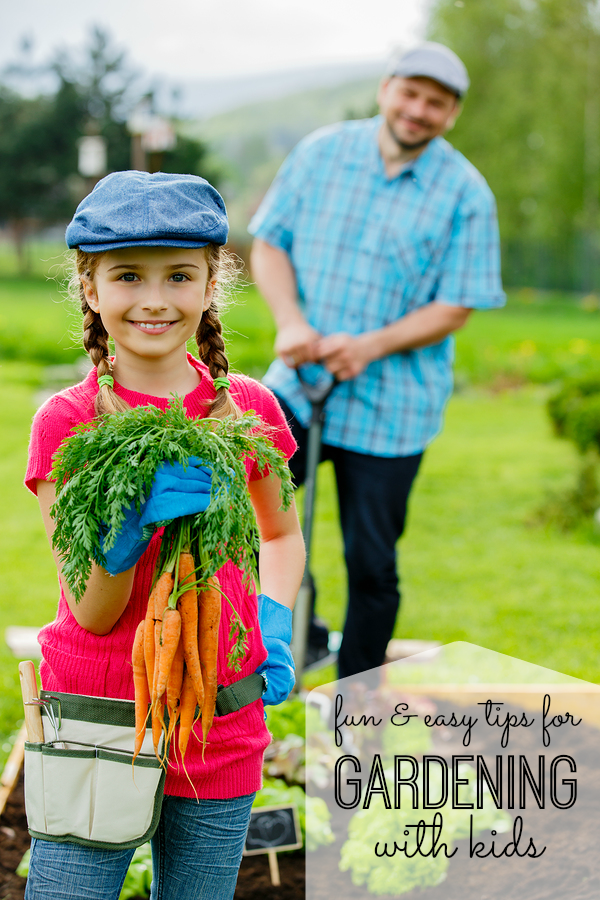 Gardening with Kids - My Life and Kids