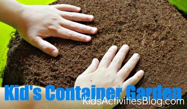 Kid's Container Garden