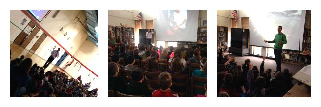 Nick Whitney Speaks at School
