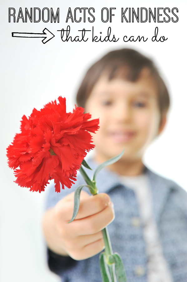 20 Random Acts of Kindness for Kids. You and your kids will love helping others! It will make your kids feel great about themselves, and help others feel good too!