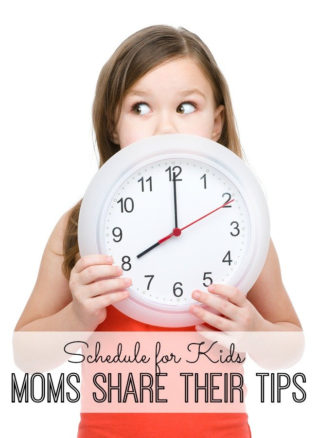 Schedule for Kids: Moms Share Their Tips