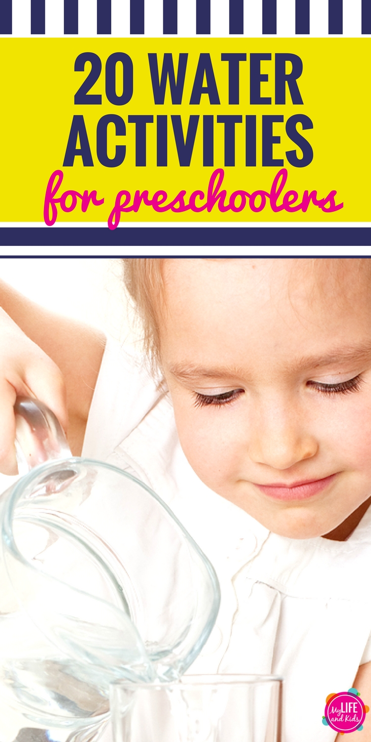From art projects to outdoor games and recipes, your preschoolers will love these 20 fun water games and activities.