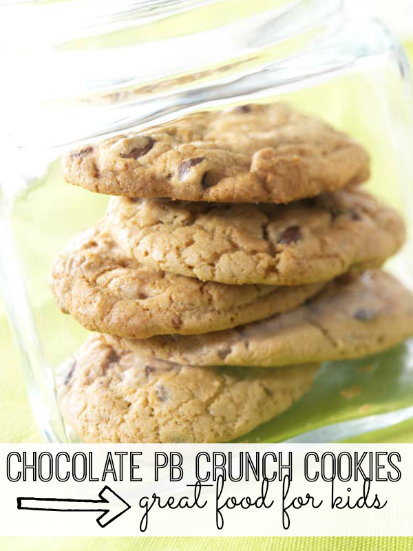Your kids will love these chocolate peanut butter cookies. Not only are they delicious but they can help bake them, too!