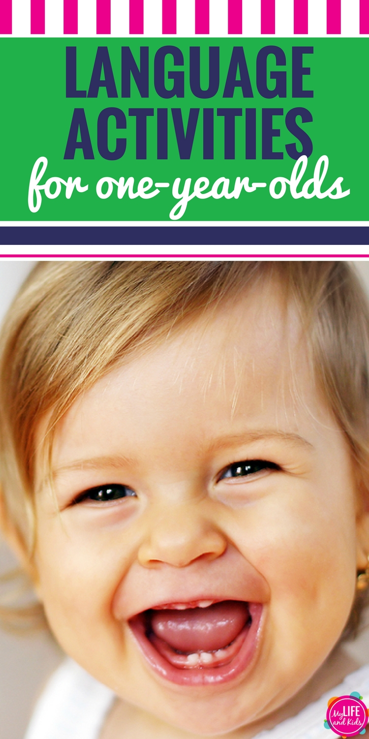 Language Development Activities for One-Year-Olds PIN