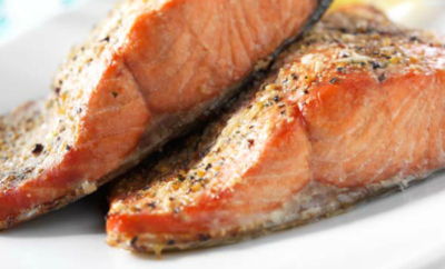 This simple recipe brings out the best of salmon. Great by itself or on a salad, it makes for a healthy and delicious meal.