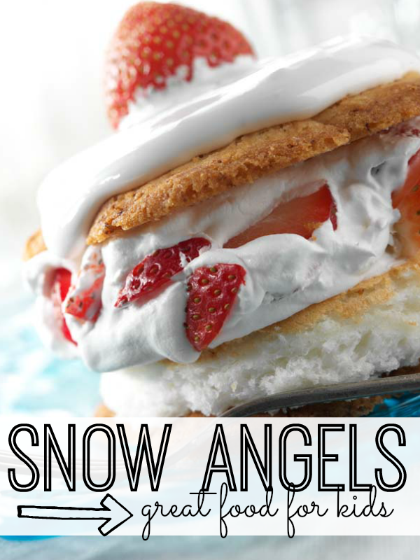 Fun to make and equally delicious, this snow angels recipe will become a quick favorite.