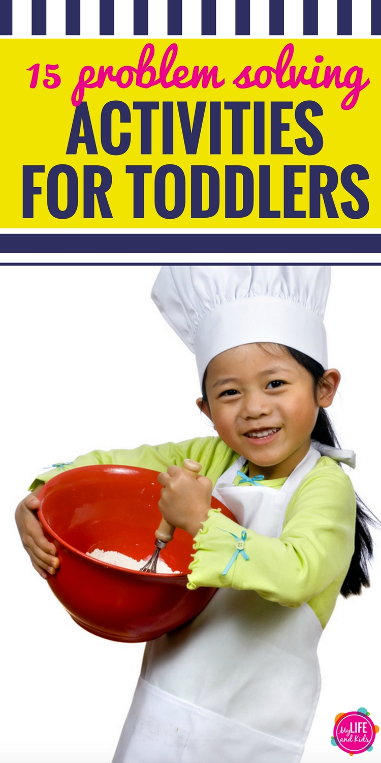 These problem solving exercises for toddlers will help your child learn important thinking and social skills through fun activities and games.