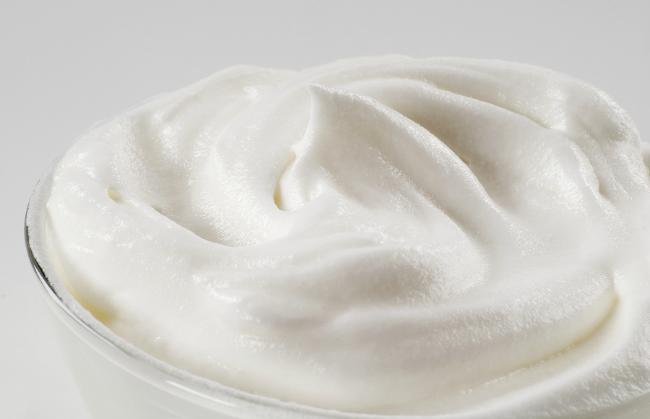 Amazing dairy-free whipped cream. YUM!