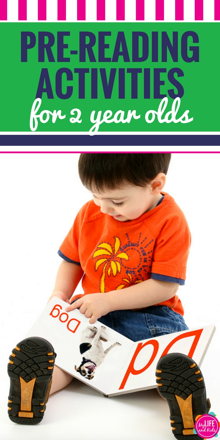 Pre-Reading Activities for 2 Year Olds PIN