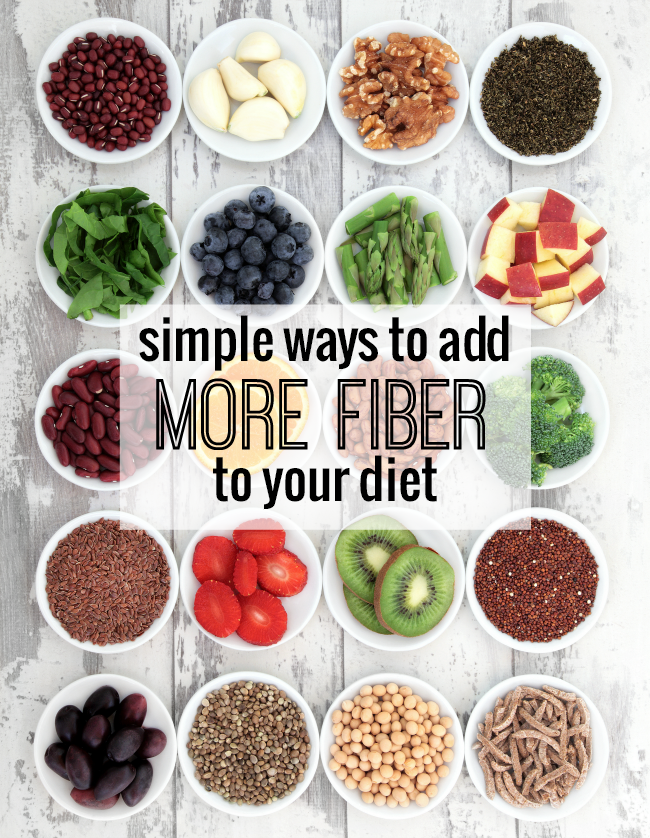 Did you know that fiber can lower your cholesterol, keep you regular and help you lose weight? It's simple to add more fiber to your diet with these five steps!