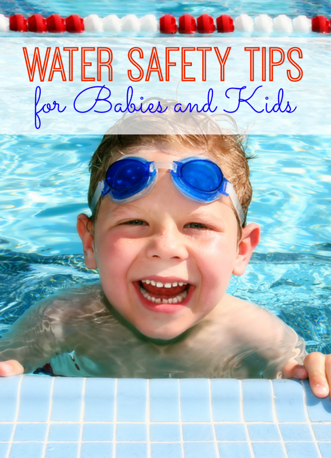 Pool and water safety tips for babies kids