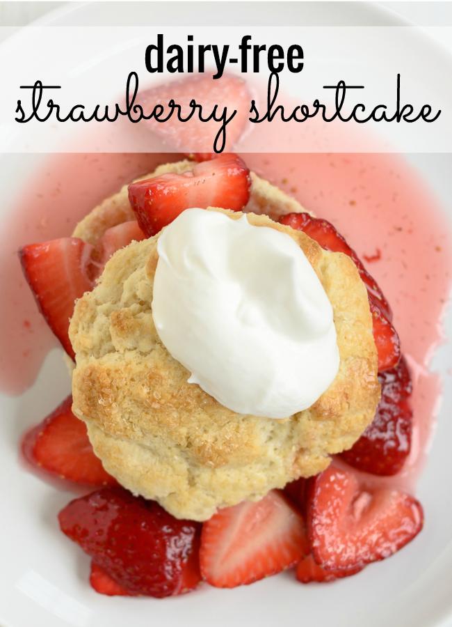 Dairy Free Strawberry Cake Recipe