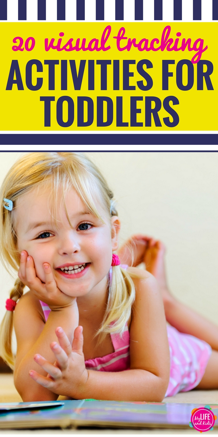20 Visual Tracking Activities for Toddlers PIN