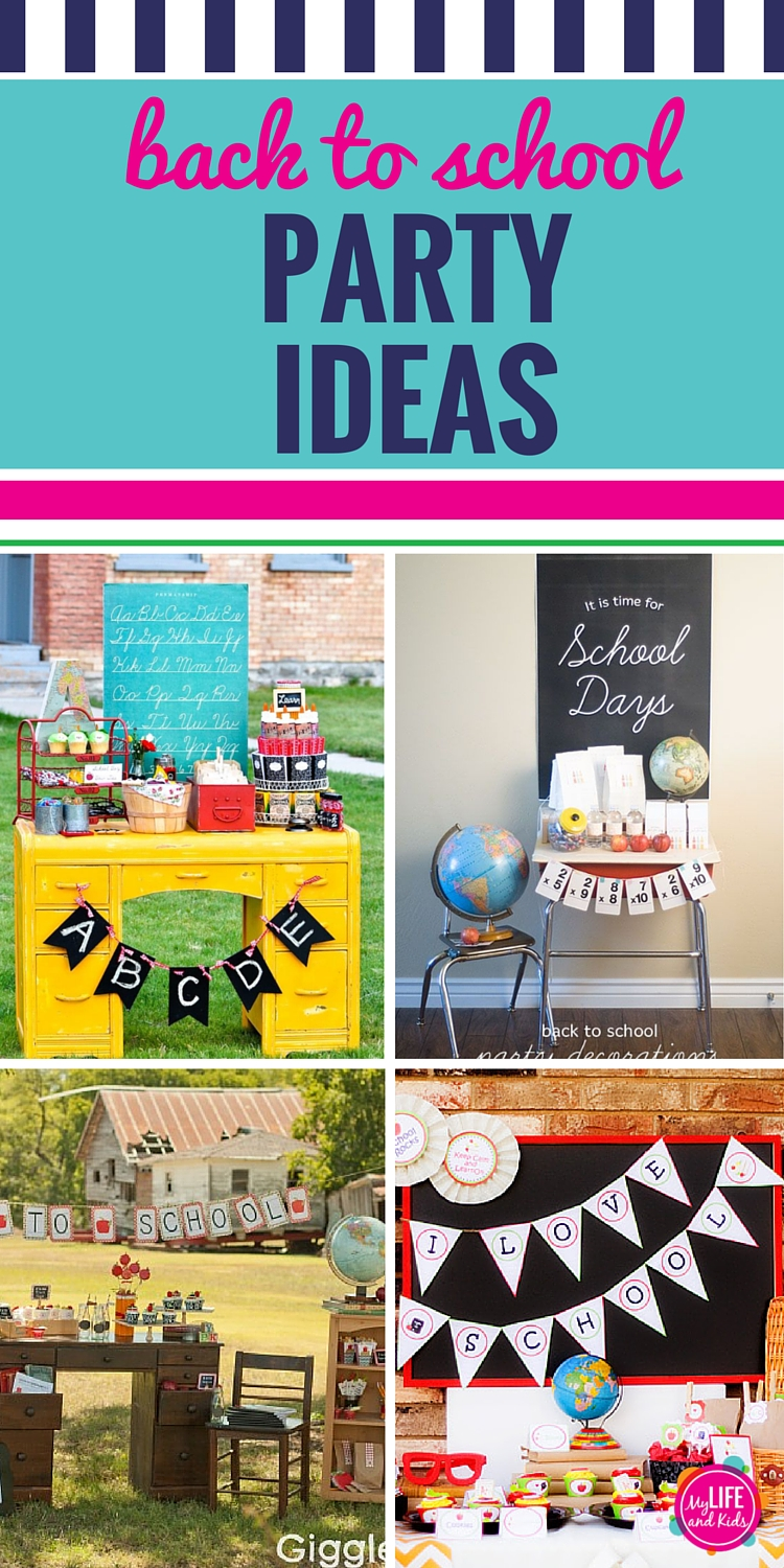 Throw a party to get your kids excited for a new school year. Get inspired with 11 of my favorite back to school party ideas, games crafts, activities and DIY projects.