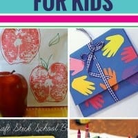 Your kids will love these back to school crafts - and you will too!  I especially love #5!