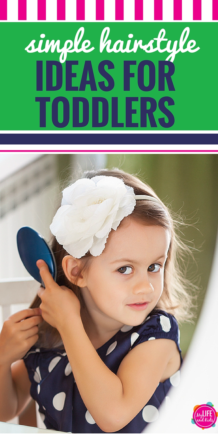 These three easy back to school hairstyles for toddlers will have you out the door in no time!