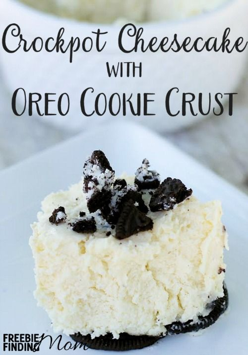 crockpot-cheesecake-with-oreo-cookie-crust
