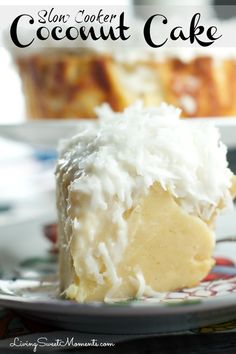 slow-cooker-coconut-cake
